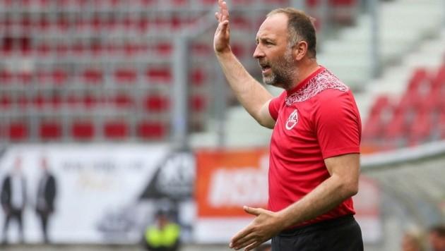Der SV Horn war seine erste Profistation als Trainer: Alex Schriebl. (Bild: GEPA pictures/ Daniel Goetzhaber)