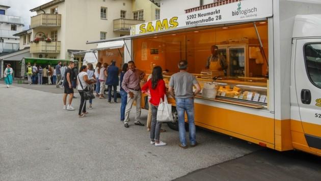 Auch der Biomarkt der Keltenstadt wechselt seinen Standort (Bild: Tschepp Markus)