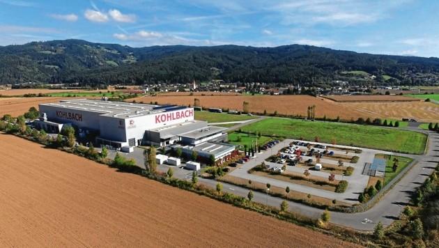 Im Bleiburger Werk werden die Teile für das Kraftwerk in Cuxhafen angefertigt (Bild: Kohlbach-Gruppe)