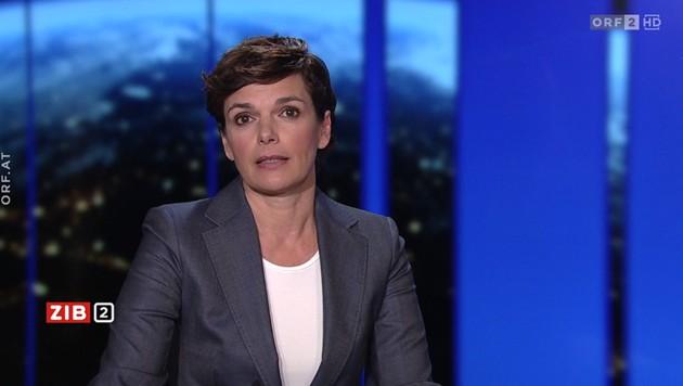 "SPÖ-Chefin Pamela Rendi-Wagner in der ""ZiB 2"" (Bild: ORF)"