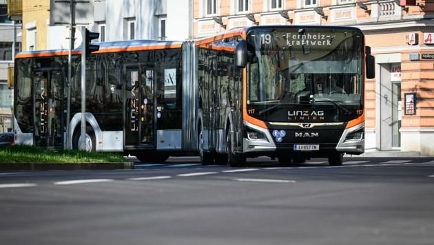 Die Pandemie setzt auch den Linzer Öffis zu – das Minus für 2021 ist noch dicker als sonst (Bild: Alexander Schwarzl)