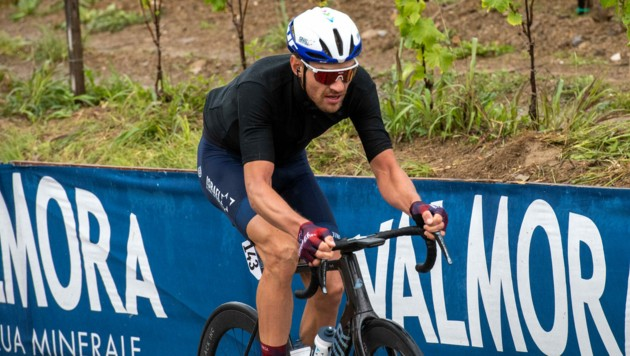 Bis Sonntag will Matthias Brändle beim Giro d'Italia noch einmal Alles aus sich herausholen. (Bild: EXPA Pictures)