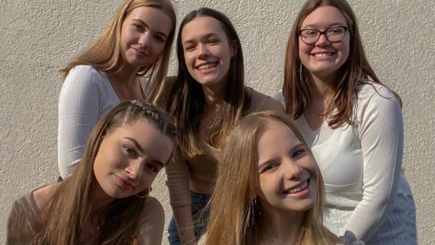 "Das Team von ""That's what she said"": Victoria Eisner, Julia Sedlacek, Suna Purgstaller, Victoria Harrer und Jasmin Kugler (v.l.) (Bild: That's what she said)"