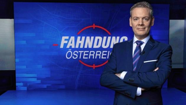 """Eduard Zimmermann erfand """"Aktenzeichen XY"""" - Hans Martin Paar moderiert """"Fahndung Österreich"""" auf ServusTV. (Bild: ServusTV)"""