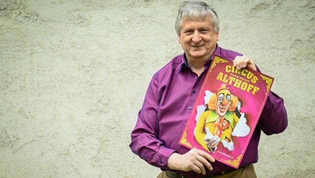 Für Zirkusse und Clowns hat Peter Lunacek schon seit seiner Kindheit ein Faible. (Bild: Alexander Schwarzl)