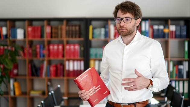 Anwalt Lorenz Kirschner glaubt, dass nicht alle Opferaussagen stimmig seien (Bild: Markus Wenzel)