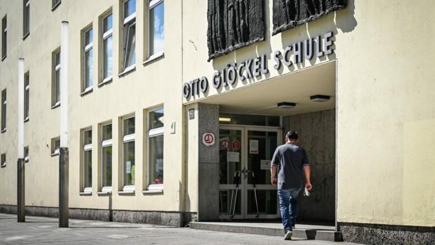 Otto Glöckel Schule in Linz (Bild: Alexander Schwarzl)