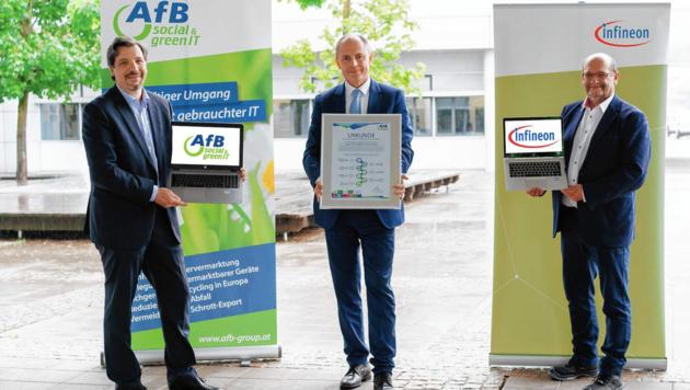 Erfolgreiche Kooperation zwischen Infineon und AfB. (Bild: Infineon Austria)