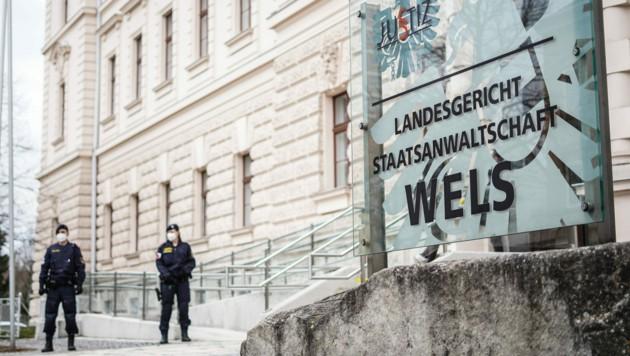 Landesgericht Wels (Bild: Markus Wenzel)