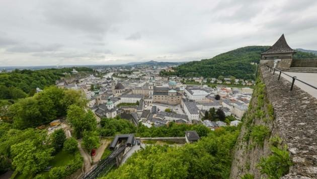 m Jahr 2019 verzeichnete Hohensalzburg 1,4 Millionen Besucher. (Bild: Tschepp Markus)