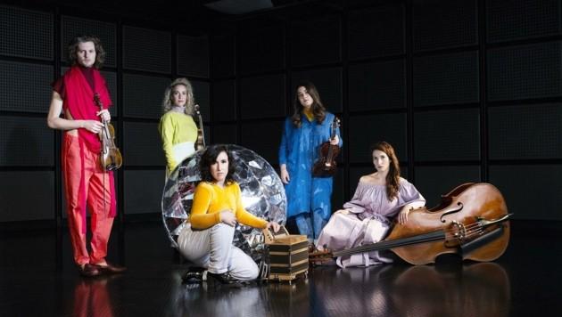 """Das Quintett """"Alma"""" präsentiert sein neues Programm. (Bild: Elsa Okazaki)"""