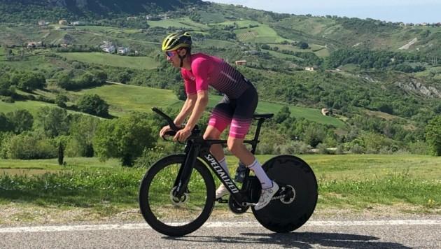 Triathlet Max Hammerle ist bereit für die Challenge in St. Pölten. (Bild: Max Hammerle)