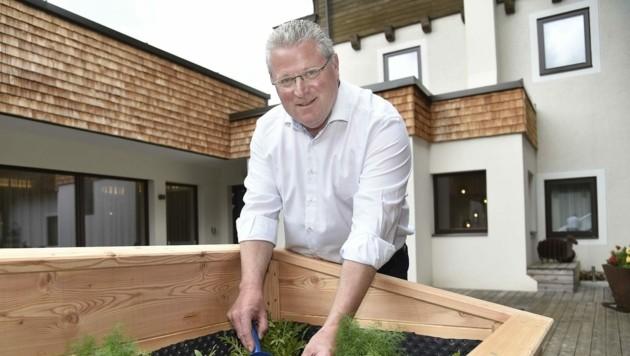 Klima-Pionier Anton Aschbacher (Bild: Holitzky Roland)
