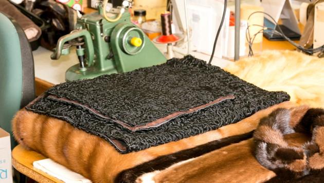 Pelze sind nicht nur kostbar, sondern auch ein Produkt höchster Handwerkskunst der Kürschner. (Bild: Mathis Fotografie )