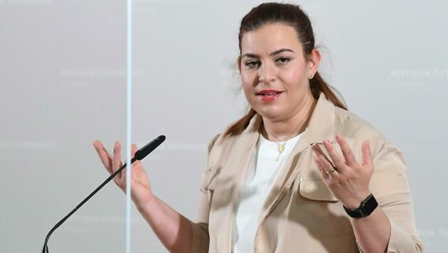 Grünen-Fraktionsführerin Nina Tomaselli (Bild: APA/HELMUT FOHRINGER)