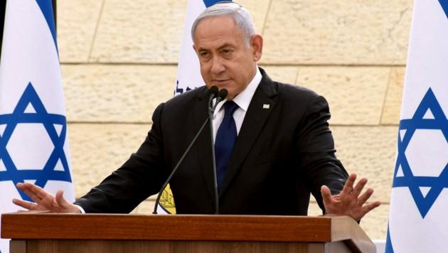 Premierminister Benjamin Netanyahu muss sich wohl bald von seinem Regierungsamt verabschieden. (Bild: APA/AFP/POOL/DEBBIE HILL)