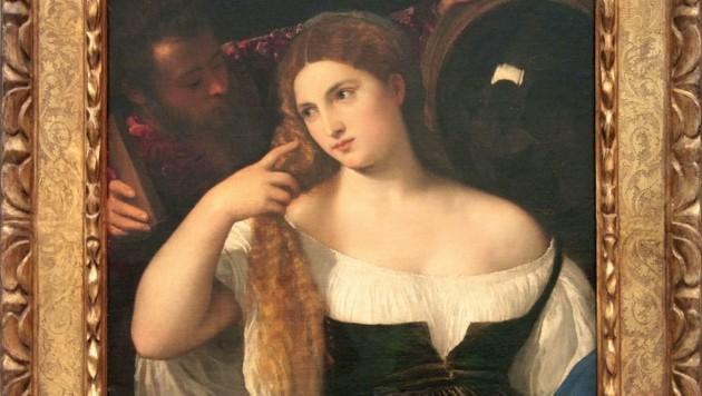 "Tizians ""Junge Frau bei der Toilette"" (Bild: © Jean-Pol GRANDMONT)"