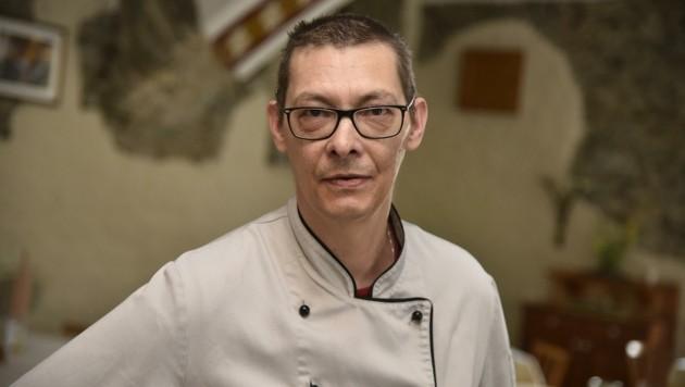 Der Chefkoch: Klaus Pichler (49) (Bild: Holitzky Roland)