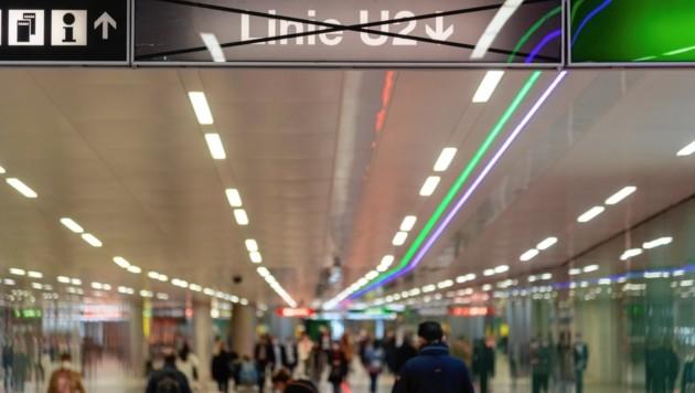 Seit Montag ist die U2 zwischen Karlsplatz und Schottentor gesperrt. (Bild: Brenek Malena)