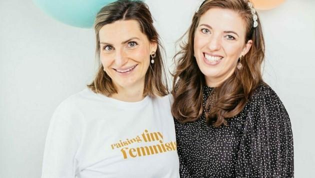Denise Uzman und Claudia Riha organisieren den MINI MARKT in Wien. (Bild: nunfoto.com)