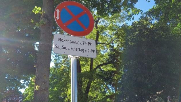 Tagsüber wird gestrampelt. Ab 19 Uhr bis in der Früh parken hier Autos. (Bild: Christina Ruckenbauer)