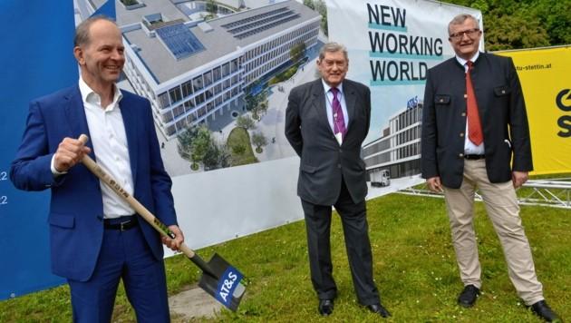 CEO Andreas Gerstenmayer, Aufsichtsratchef Hannes Androsch, COO Simon Sebanz (v. li.) (Bild: Weeber Heinz)
