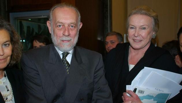 Prinz Amedeo, Herzog von Savoyen und Aosta, mit Prinzessin Maria Gabriella von Savoyen (Bild: Marcellino Radogna / PA / picturedesk.com)