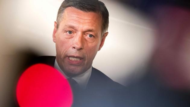Der mittlerweile suspendierte Justiz-Sektionschef Christian Pilnacek (Bild: APA/GEORG HOCHMUTH)