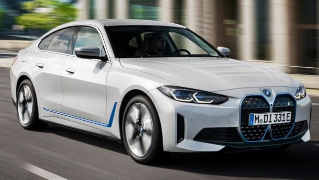 BMW i4 eDrive40 (Bild: BMW)