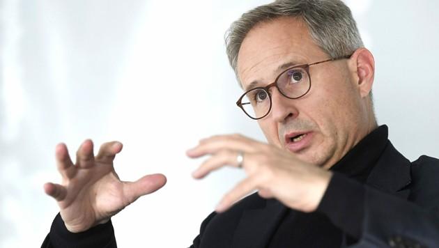 Alfred Stern übernimmt am 1. September die Führung bei der OMV. (Bild: APA/HANS KLAUS TECHT)