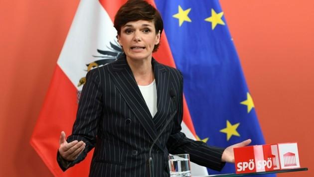SPÖ-Parteivorsitzende Pamela Rendi-Wagner (Bild: APA/HELMUT FOHRINGER)