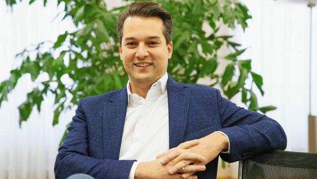 Dominik Nepp möchte Wiener Chef der FPÖ bleiben. (Bild: Klemens Groh)