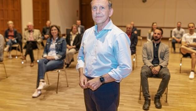 Einhellig war VP-Vorstand für Josef Ramharter. (Bild: Biedermann Andreas)