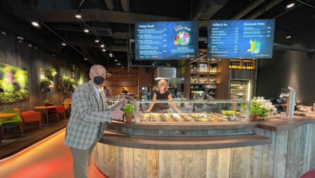 """Nach Salzburg, Innsbruck, Linz, Wien und München hat jetzt auch Kärnten sein erstes """"my Indigo""""-Restaurant - im Atrio! (Bild: ATRIO Villach)"""