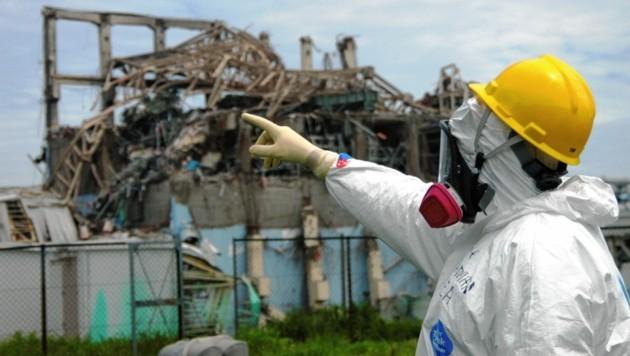 In vier von sechs Atomreaktoren kam es im März 2011 in Fukushima zur Kernschmelze - und damit zum Super-GAU. (Bild: Reuters)