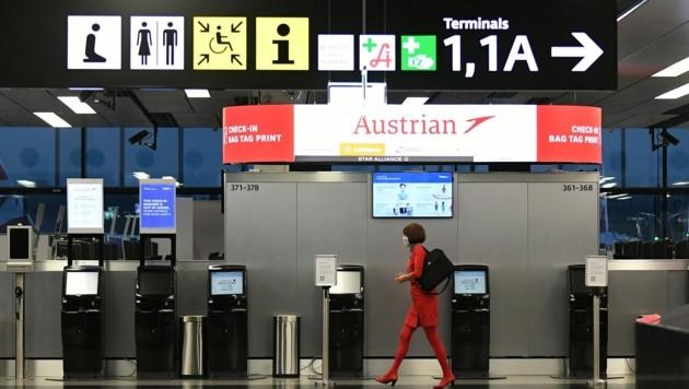 Vom Wiener Flughafen (Bild) bis zum Ars Electronica Center in Linz: Das Unternehmen steht hoch im Kurs. (Bild: Patrick Huber)