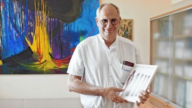 Professor Rudolf Likar leitet die Abteilung. (Bild: Kabeg)