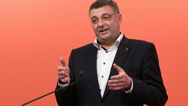 SPÖ-Vizeklubchef Jörg Leichtfried (Bild: APA/HELMUT FOHRINGER)