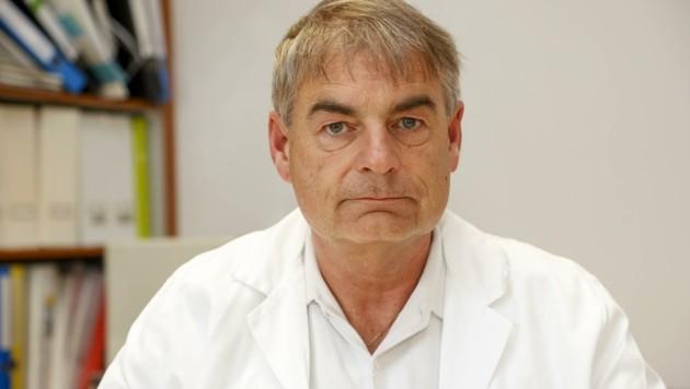 Gerd Rasp ist HNO-Primar am Uniklinikum Salzburg. (Bild: Tschepp Markus)