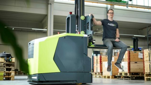 Von der Entwicklung bis zur Testphase: Das in Neukirchen bei Lambach ansässige Unternehmen hat alles fest im Griff. (Bild: Markus Wenzel)