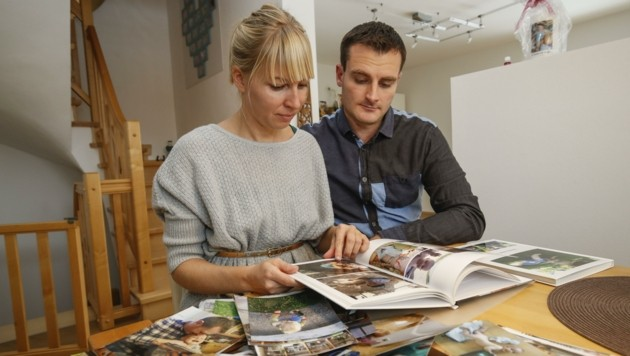Davids Eltern Edda und Thomas hoffen, dass der Prozess gegen die zwei Spitalsärzte bald einen Abschluss findet. (Bild: Tschepp Markus)