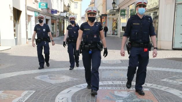 Die Klagenfurter Polizei steht wegen der Partys an Wochenenden derzeit im Dauereinsatz. (Bild: Rojsek-Wiedergut Uta)