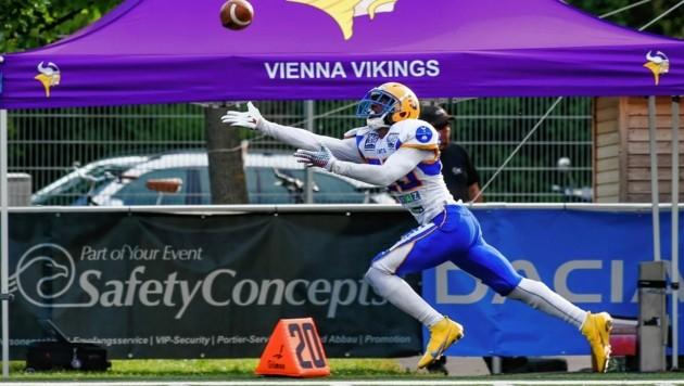 Die Graz Giants lieferten sich mit den Vikings einen harten Kampf. (Bild: Urbantschitsch Mario)