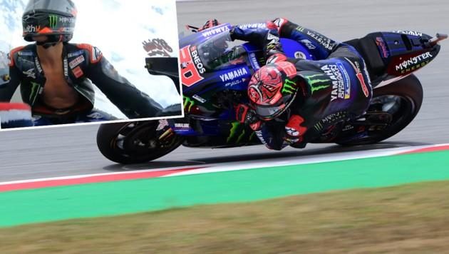 Fabio Quartararo (Bild: AFP, twitter.com/MotoGP)