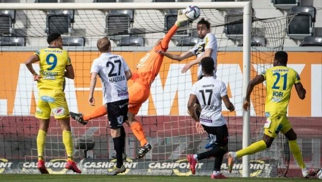 Altach erhielt in der vergangenen Saison kein Gegentor nach Eckbällen - das gelang seit 14 Jahren keinem anderen Bundesliga-Team. (Bild: Maurice Shourot)
