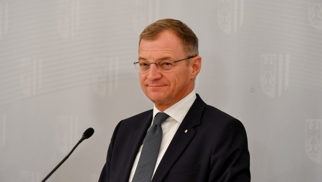 LH Thomas Stelzer (ÖVP) (Bild: Dostal Harald)