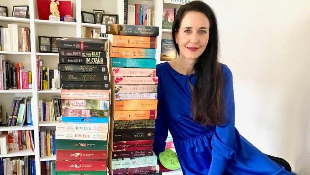 """Julia Kröhn, die unter ihrem Pseudonym Klara Jahn zuletzt den Roman """"Die Farbe des Nordwinds"""" veröffentlicht hat (Bild: ZVG)"""