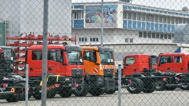 Mehr als 2100 Mitarbeiter sind im Werk in Steyr beschäftigt. (Bild: Wolfgang Spitzbart .)