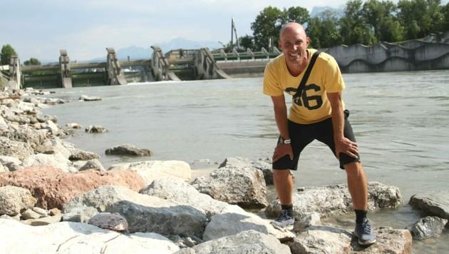 Donald Unterholzner rettete der Pensionistin das Leben. (Bild: Andreas Tröster)