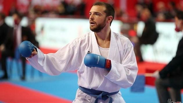 Kommt mit EM-Bronze nach Paris: Stefan Pokorny. (Bild: Ewald Roth/Karate Austria)